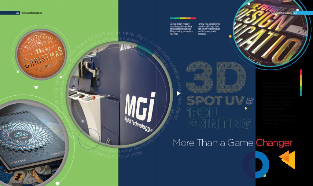3D Spot UV